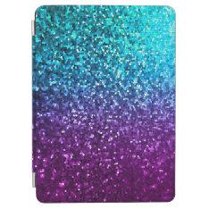Cover Ipad Air Mosaic Sparkley Texture at Zazzle
