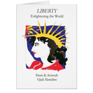 Cover-Lady Liberty/Folded Card