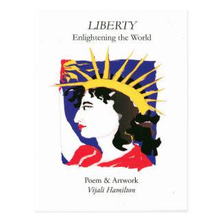 Cover-Lady Liberty/Postcard Postcard