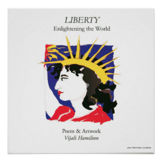 Cover- Lady Liberty/Poster Poster