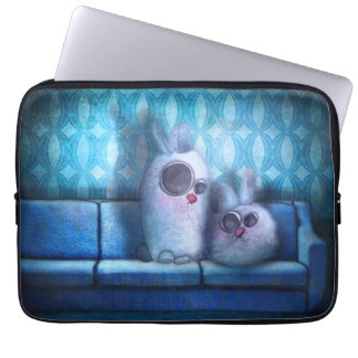 """Cover laptop """"Rabbit of living room """""""
