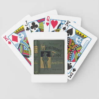 Cover of 'Adventures of Huckleberry Finn' by Mark Bicycle Playing Cards