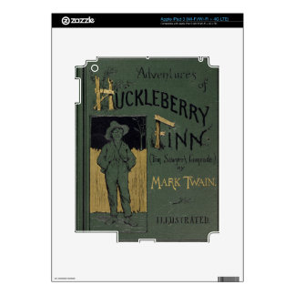 Cover of 'Adventures of Huckleberry Finn' by Mark iPad 3 Decals