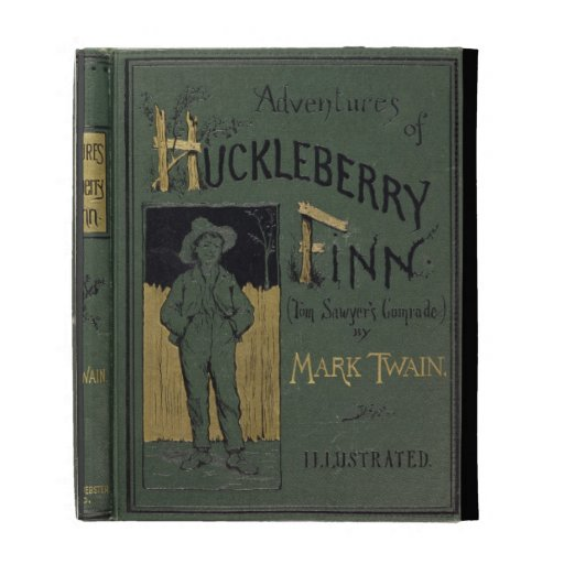 Cover of 'Adventures of Huckleberry Finn' by Mark iPad Cases