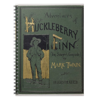 Cover of 'Adventures of Huckleberry Finn' by Mark Notebook
