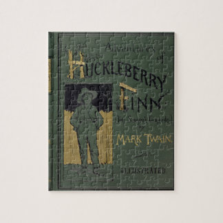 Cover of 'Adventures of Huckleberry Finn' by Mark Puzzle