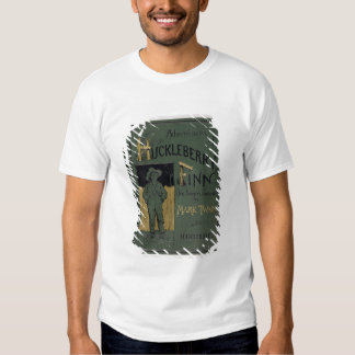 Cover of 'Adventures of Huckleberry Finn' by Mark T-Shirt