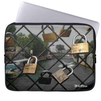 Cover of portable Paris locked Computer Sleeves