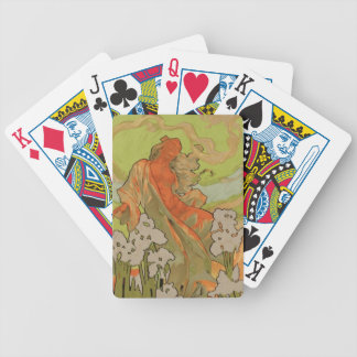 Cover of Score and Libretto of the opera 'Iris', 1 Bicycle Playing Cards