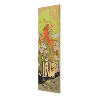 Cover of Score and Libretto of the opera 'Iris', 1 Canvas Print