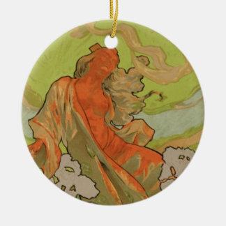 Cover of Score and Libretto of the opera 'Iris', 1 Ceramic Ornament