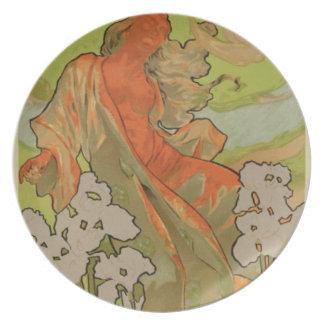 Cover of Score and Libretto of the opera 'Iris', 1 Melamine Plate