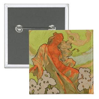 Cover of Score and Libretto of the opera 'Iris', 1 Pinback Button