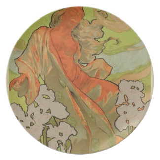 Cover of Score and Libretto of the opera 'Iris', 1 Dinner Plate
