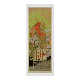 Cover of Score and Libretto of the opera 'Iris', 1 Poster