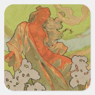 Cover of Score and Libretto of the opera 'Iris', 1 Square Sticker