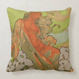 Cover of Score and Libretto of the opera 'Iris', 1 Throw Pillow