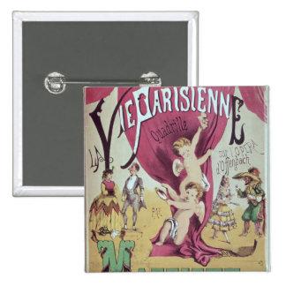 Cover of score sheet 'La Vie Parisienne Button