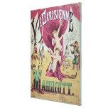 Cover of score sheet 'La Vie Parisienne Canvas Print