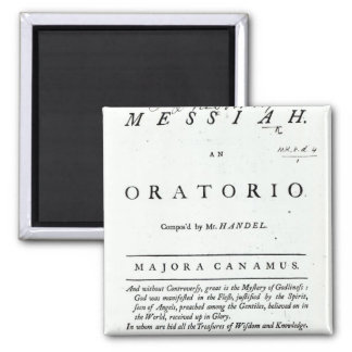 Cover of Sheet Music 2 Inch Square Magnet