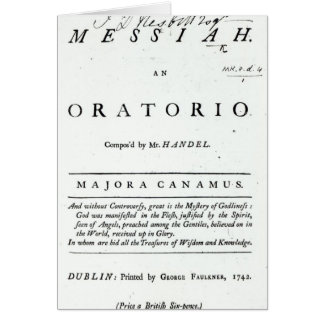 Cover of Sheet Music Card