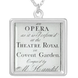 Cover of Sheet Music for Alcina Square Pendant Necklace
