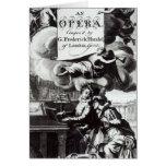 Cover of Sheet Music for Julius Caesar Greeting Card