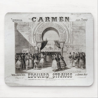 Cover of the score of piano quadrille mouse pads