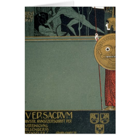 Cover of Ver Sacrum the journal of the Card