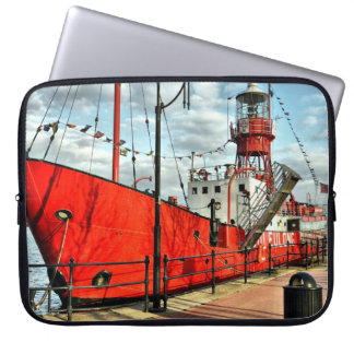 COVER PORTABLE PC RED SHIP