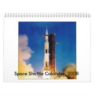 cover, Space Shuttle Calander, 2008 Calendar