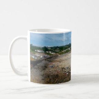 Coverack Beach Cornwall England Photo Coffee Mug