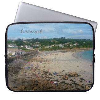 Coverack Beach Cornwall England Photo Computer Sleeve