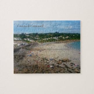Coverack Beach Cornwall England Photo Jigsaw Puzzle