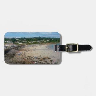 Coverack Beach Cornwall England Photo Luggage Tag