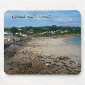 Coverack Beach Cornwall England Photo Mouse Pad