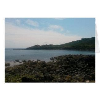 Coverack Cornwall England Photo Card