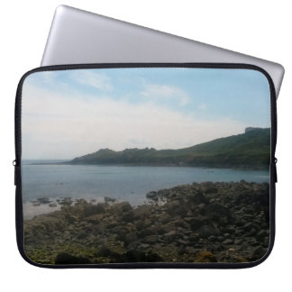 Coverack Cornwall England Photo Laptop Sleeve