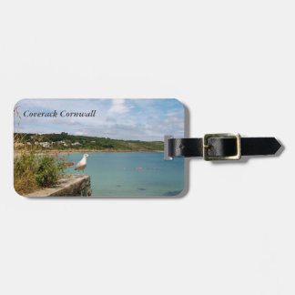 Coverack Cornwall England Photo Luggage Tag