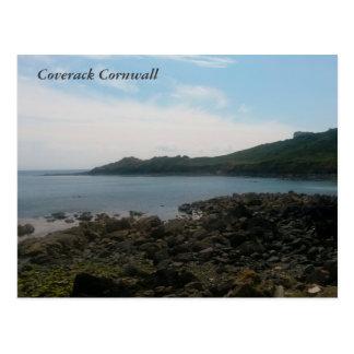 Coverack Cornwall England Photo Postcard