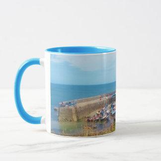 Coverack Harbour The Lizard Cornwall England Mug