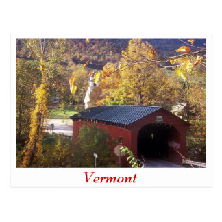 Covered Bridge and Common West Arlington Vermont Post Cards