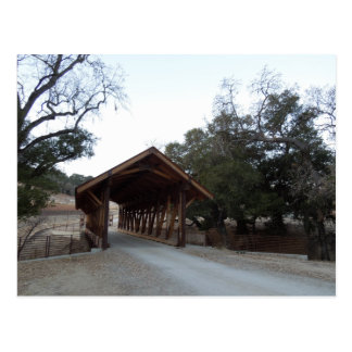 Covered Bridge at Halter Ranch, Paso Robles Postcard