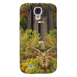 Covered Bridge at Stone Mountain Galaxy S4 Case