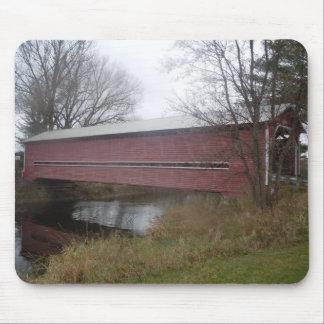 Covered Bridge, Brigham, Quebec - Mouse Pad