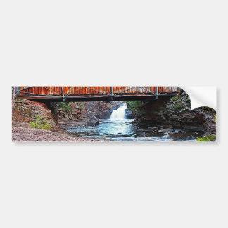 Covered Bridge Bumper Sticker