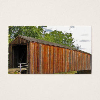 Covered Bridge Business Card