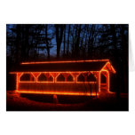 Covered Bridge Holiday Lights Cards