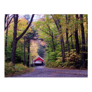 Covered Bridge in New Hampshire Postcard