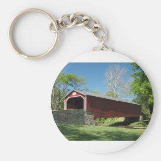 Covered Bridge in Pennsylvania Keychain